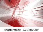 abstract architectural interior ... | Shutterstock . vector #628289009