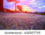 walkway stone in the park and... | Shutterstock . vector #628307759