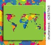 color world | Shutterstock .eps vector #62837065