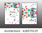 business brochure. vector | Shutterstock .eps vector #628374119