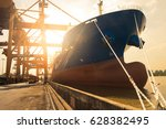 Container Ship Berthing At Por...