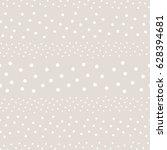 polka dot seamless pattern ... | Shutterstock .eps vector #628394681
