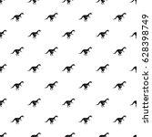 theropod dinosaur pattern...   Shutterstock .eps vector #628398749