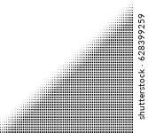 halftone dot pattern  element ... | Shutterstock .eps vector #628399259