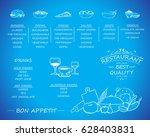 placemat design template vector ... | Shutterstock .eps vector #628403831