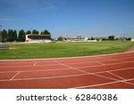 running tracks in les mureaux... | Shutterstock . vector #62840386