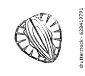 delicious strawberry fruit   Shutterstock .eps vector #628419791