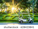 Golf Carts Or Golf Club Cars In ...