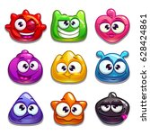 funny cartoon jelly characters  ...
