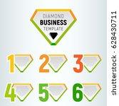 vector infographic design... | Shutterstock .eps vector #628430711