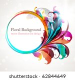 abstract background for design... | Shutterstock .eps vector #62844649