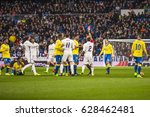 madrid  spain   march 1  in a...   Shutterstock . vector #628462481
