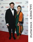 Small photo of Architect Bjarke Ingels (L) and Ruth Otero attend the Time 100 Gala at Frederick P. Rose Hall on April 25, 2017 in New York City.