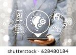 agile development software...   Shutterstock . vector #628480184