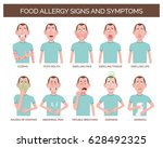 cartoon character showing the... | Shutterstock .eps vector #628492325