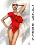 portrait beauty stunning sexy...   Shutterstock . vector #628502675