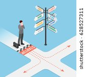 business startup composition... | Shutterstock .eps vector #628527311