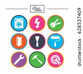 repair  construction icons.... | Shutterstock .eps vector #628537409
