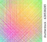 color pencil hatching texture.... | Shutterstock .eps vector #628538285
