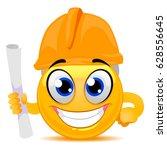 vector illustration of smiley... | Shutterstock .eps vector #628556645