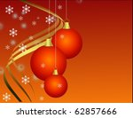 christmas decoration | Shutterstock . vector #62857666