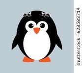 penguin icon | Shutterstock .eps vector #628583714