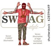 the guy in tattoos   swag style....