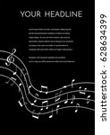 a vector  flyer or brochure... | Shutterstock .eps vector #628634399