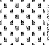 dictaphone pattern seamless in... | Shutterstock .eps vector #628688129