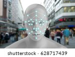 machine learning systems  ... | Shutterstock . vector #628717439