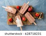 Homemade Frozen Ice Cream...