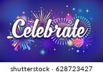 celebrate  victory background ...   Shutterstock .eps vector #628723427