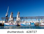 Boats At Cape Town Harbour ...