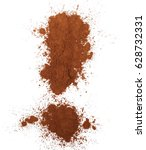 Pile Cocoa Powder Exclamation...