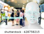 machine learning systems  ... | Shutterstock . vector #628758215