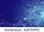 light blue abstract background. ... | Shutterstock .eps vector #628759991