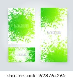 vector abstract background with ... | Shutterstock .eps vector #628765265
