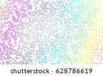 light multicolor  rainbow... | Shutterstock .eps vector #628786619