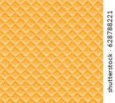 wafer seamless vector... | Shutterstock .eps vector #628788221