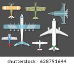 Vector Airplane Illustration...