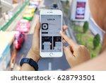 bangkok  thailand   april 23 ... | Shutterstock . vector #628793501