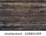 dark wood texture background... | Shutterstock . vector #628801409