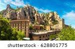 santa maria de montserrat abbey ...   Shutterstock . vector #628801775