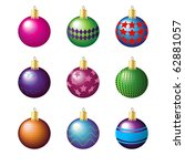 illustration of colorful... | Shutterstock . vector #62881057