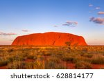 Uluru  Australia   Circa Augus...