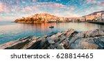 sunny spring panorama of aegean ...   Shutterstock . vector #628814465