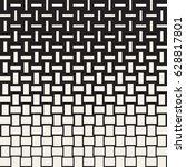 vector seamless geometric... | Shutterstock .eps vector #628817801