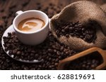 Coffee  On The Coffee Beans...