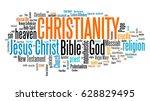 christianity   religion of... | Shutterstock . vector #628829495