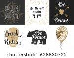 set of motivational and...   Shutterstock . vector #628830725
